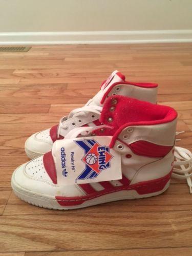 Patrick Ewing Adidas Original Vintage Rivalry Hi Basketball Shoes