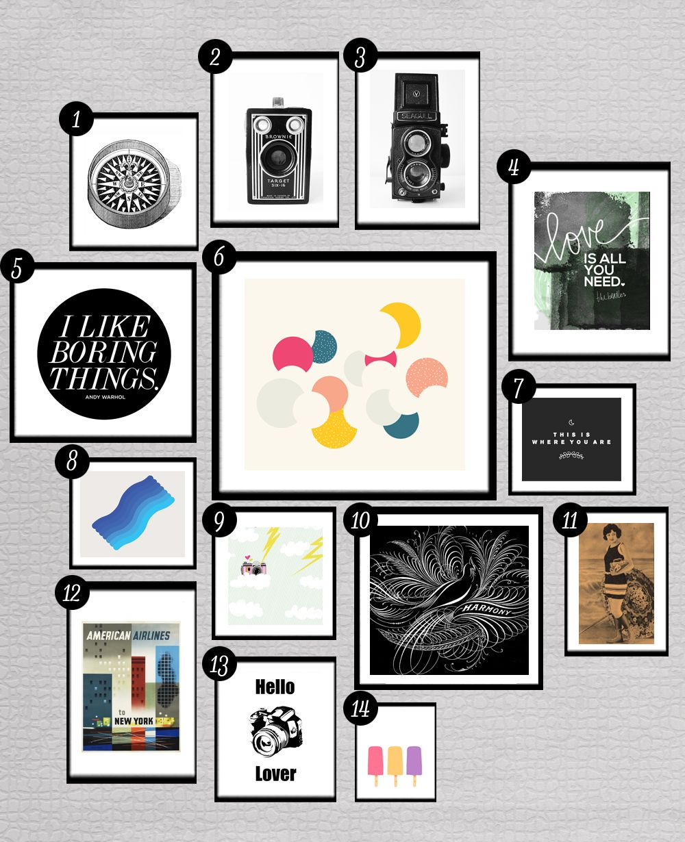 28 More Free Prints For Your Gallery Walls