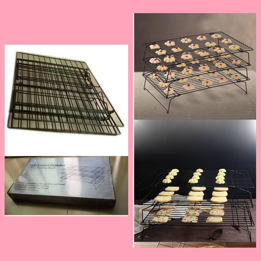 Harga 95 000 Rak Pendingin Kue Dan Cake Tingkat 3 Susun Cooling