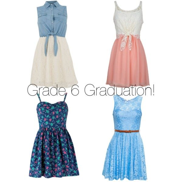 Cute Graduation Dresses for 6th Graders