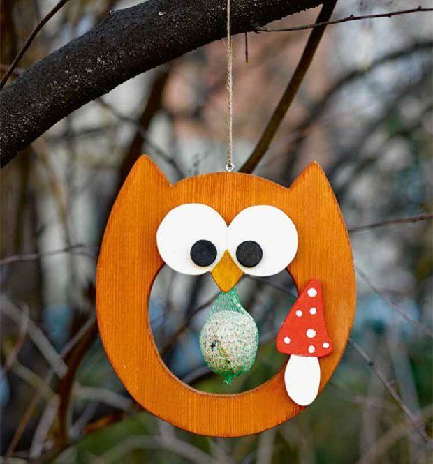 Vögel füttern (KREATIV.INSPIRATION.) #weihnachtsmarktideenverkauf