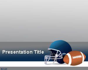 American Football Powerpoint Template Football Template Football