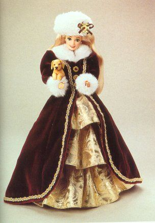 victorian holiday barbie - Bing Images | BARBIE ~ HOLIDAYS ...
