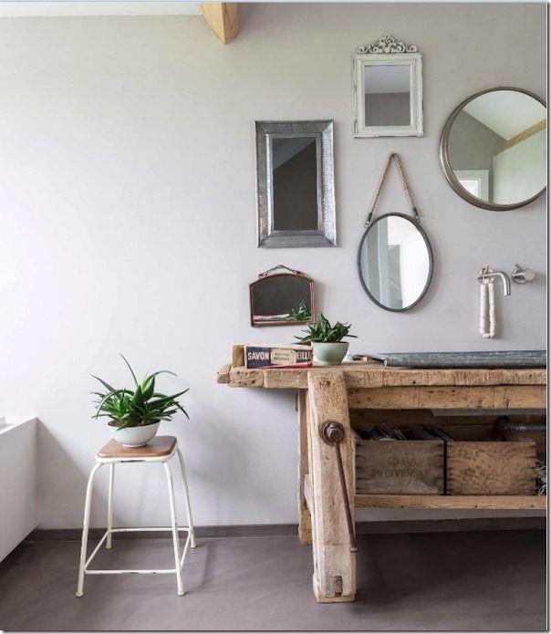 interior design, french style, Shabby chic interior, Boho-chic style ...