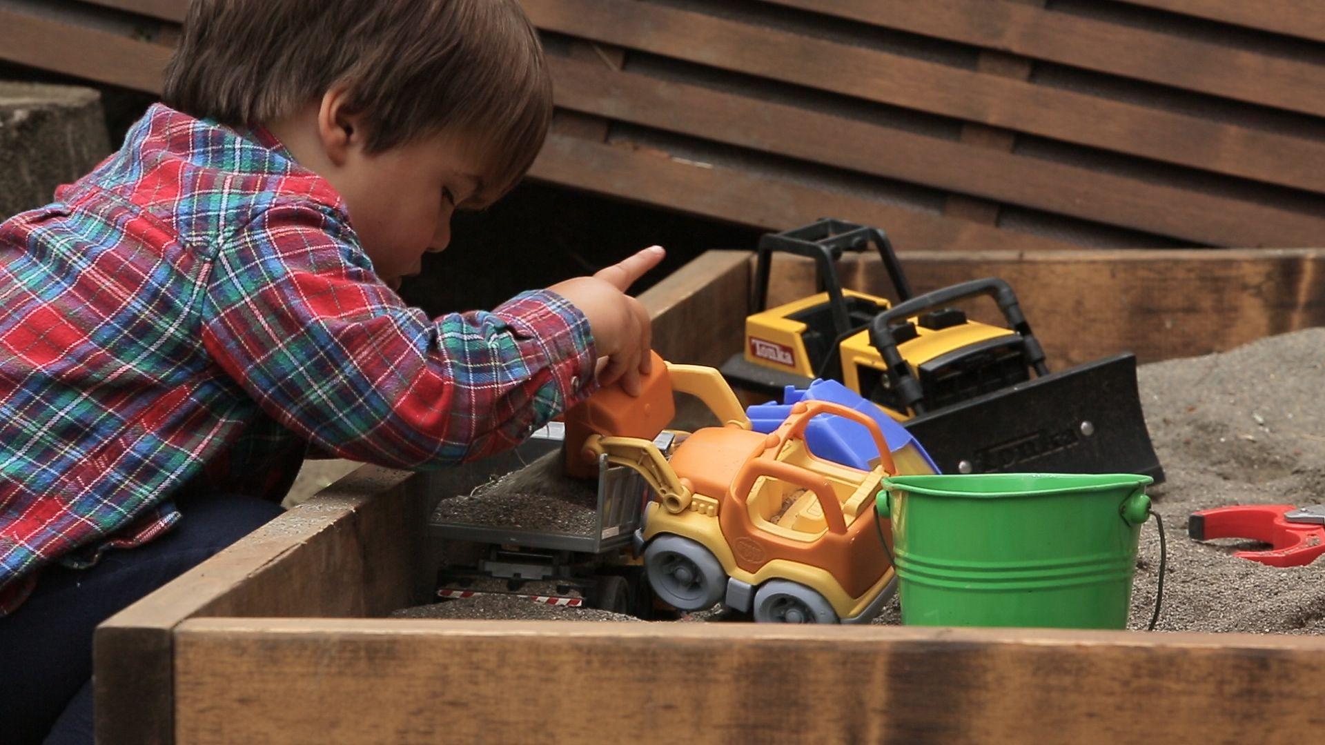 DIY Sandbox | Build a sandbox, Simple sandbox, Sandbox