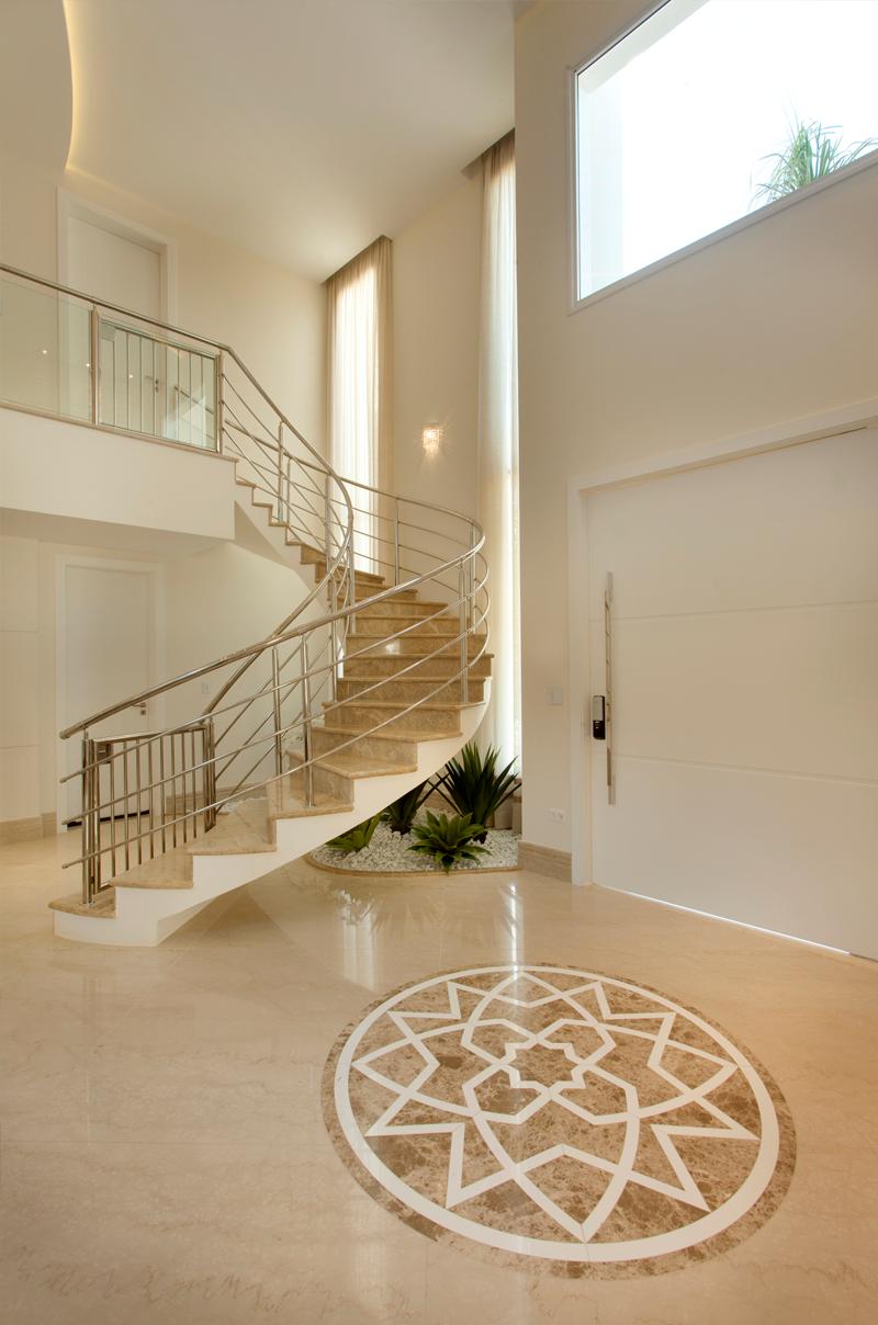 Decor Salteado Blog de Decoraç u00e3o e Arquitetura Decor -> Decoração De Hall Com Escada
