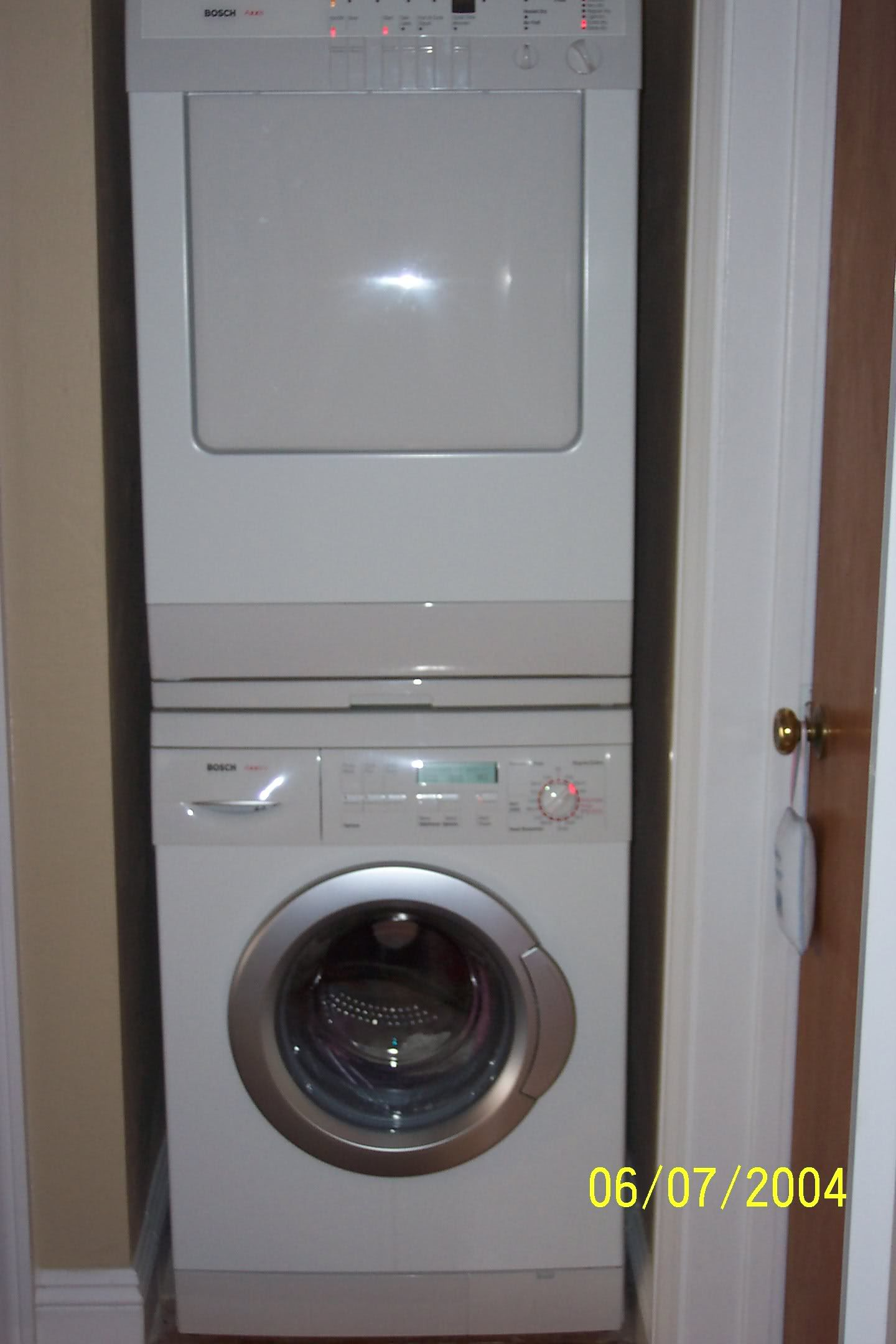 Pull Out Folding Shelf Between Stackable Washer And Dryer Google Search