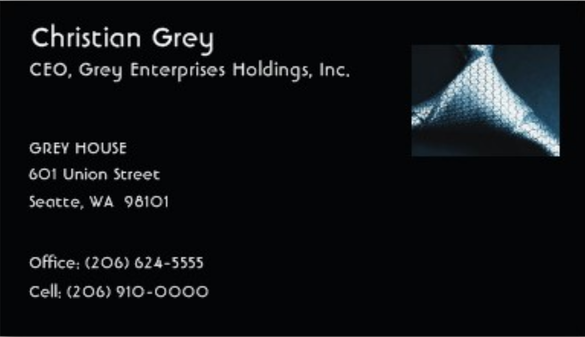 Christian\'s Business Card (\