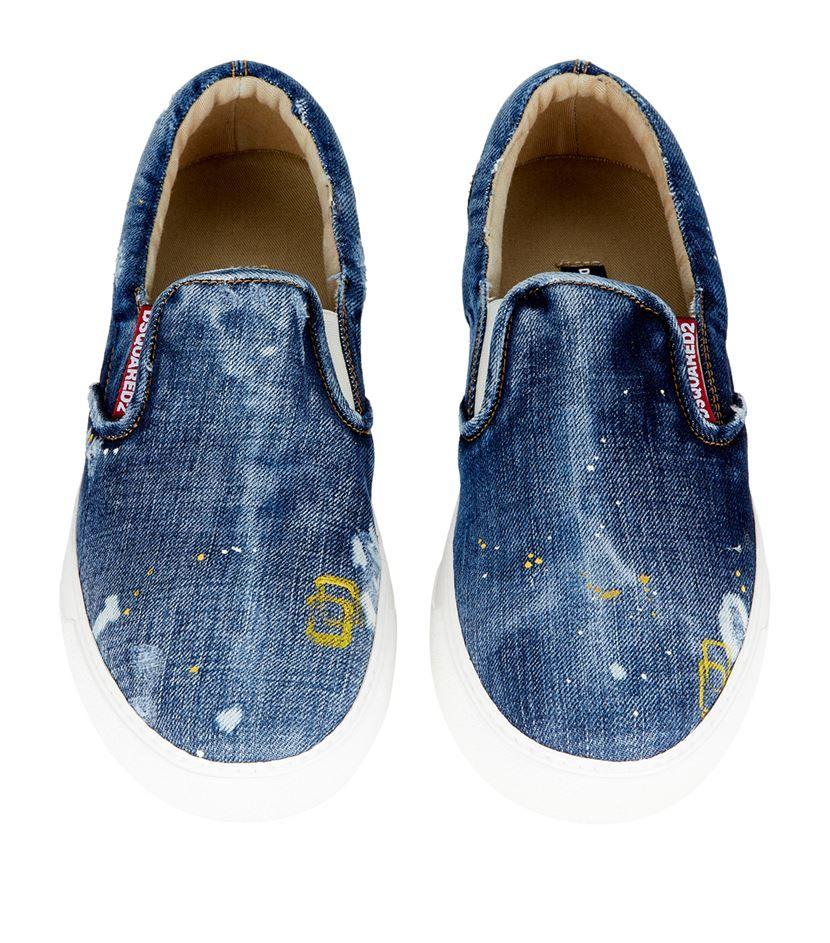 ae7461cf78 Dsquared² Teddy Bear Skate Shoe in Blue for Men