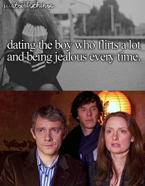 Just Sherly Things- Boys who flirt Credit: Me