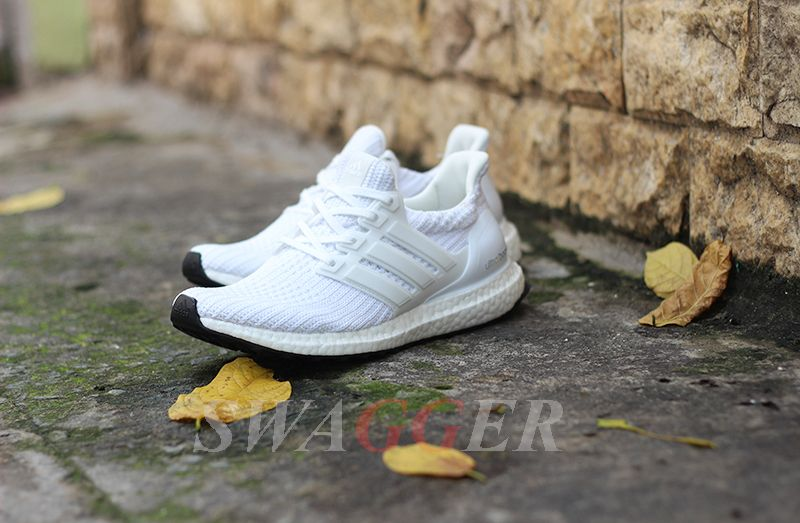 Giay Adidas Ultra Boost 4 0 Trắng Adidas Adidas Sneakers Sneakers