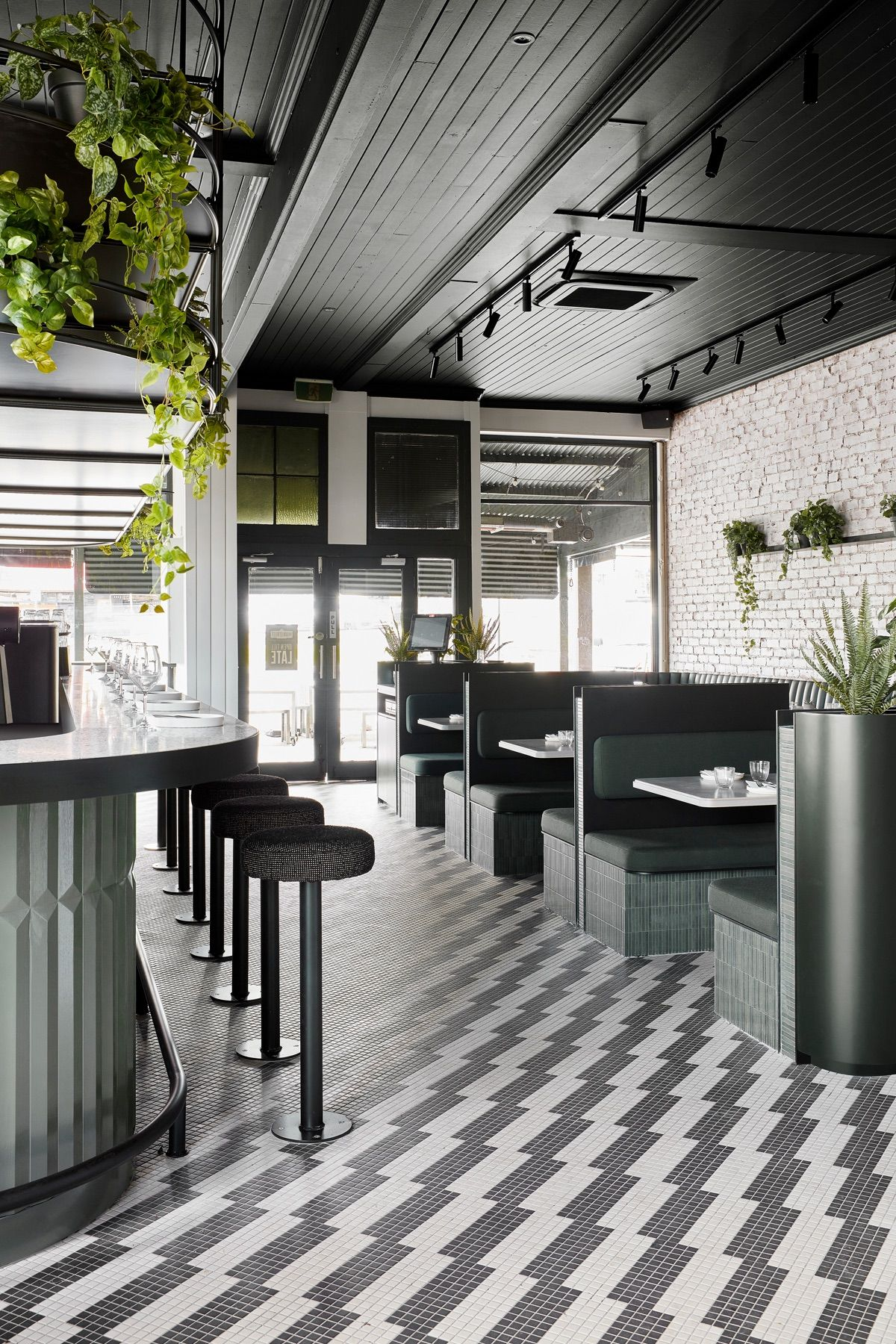 Biasol creates a modern take on classic New York diners