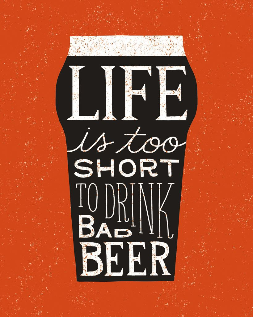 Short Beer Quotes : short, quotes, Craft, Collection., Michael, Mullan., Www.mullanillustration.com, Collection,, Beer,, Quotes