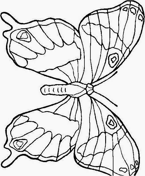 Farfalle Da Colorare Per Bambini Farfalle Da Colorare E Stampare