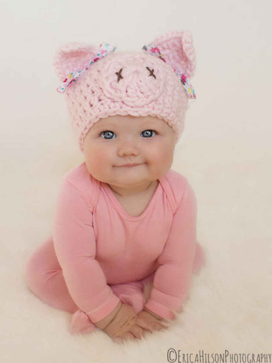 Adorable pig hat for baby! #affiliate #halloween | Halloween ...