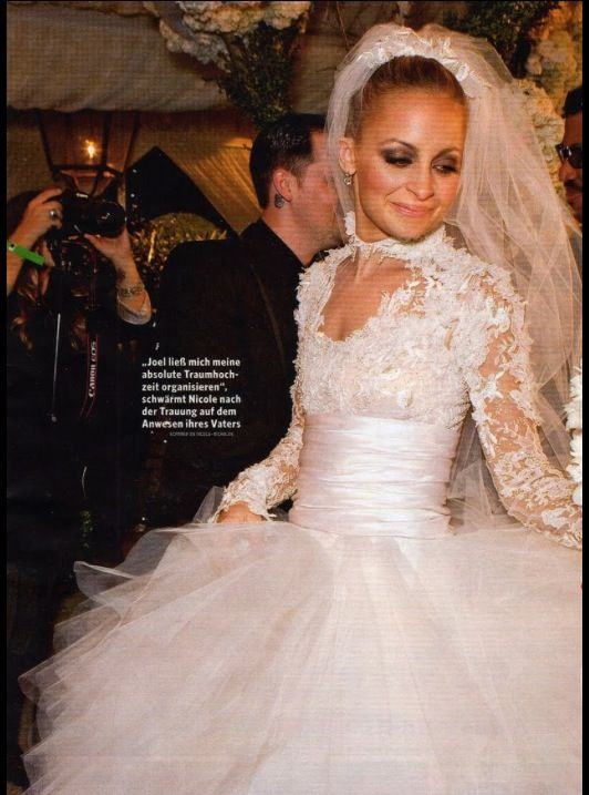 Nicole Richie Wedding Dress