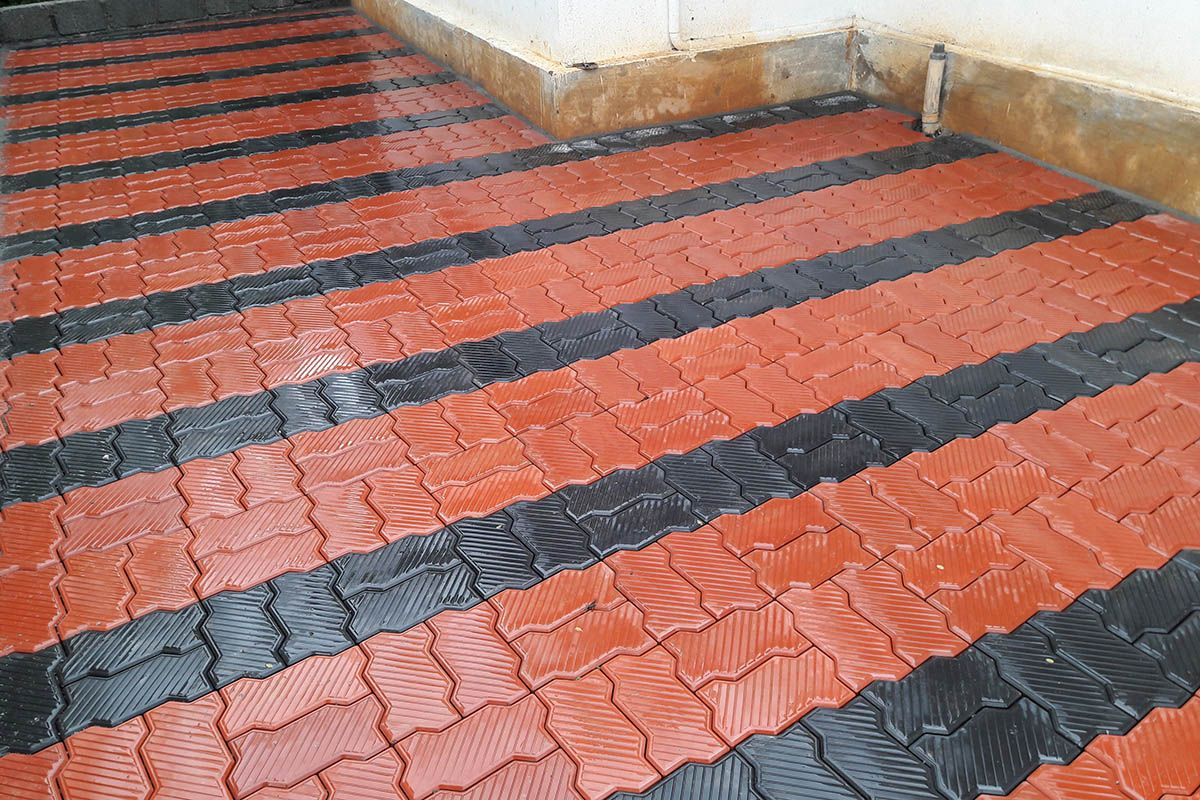These are called Zig Zag shaped Pavers\/Paving Blocks  Pavement design, Building materials