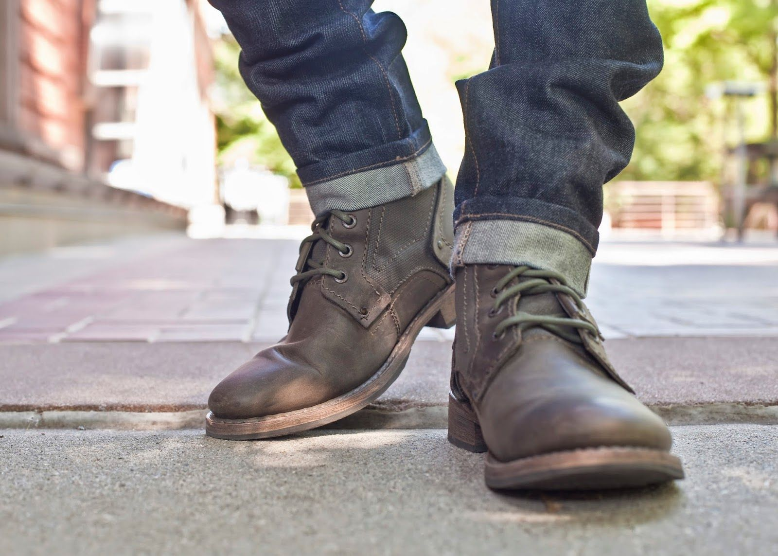 Boots outfit men