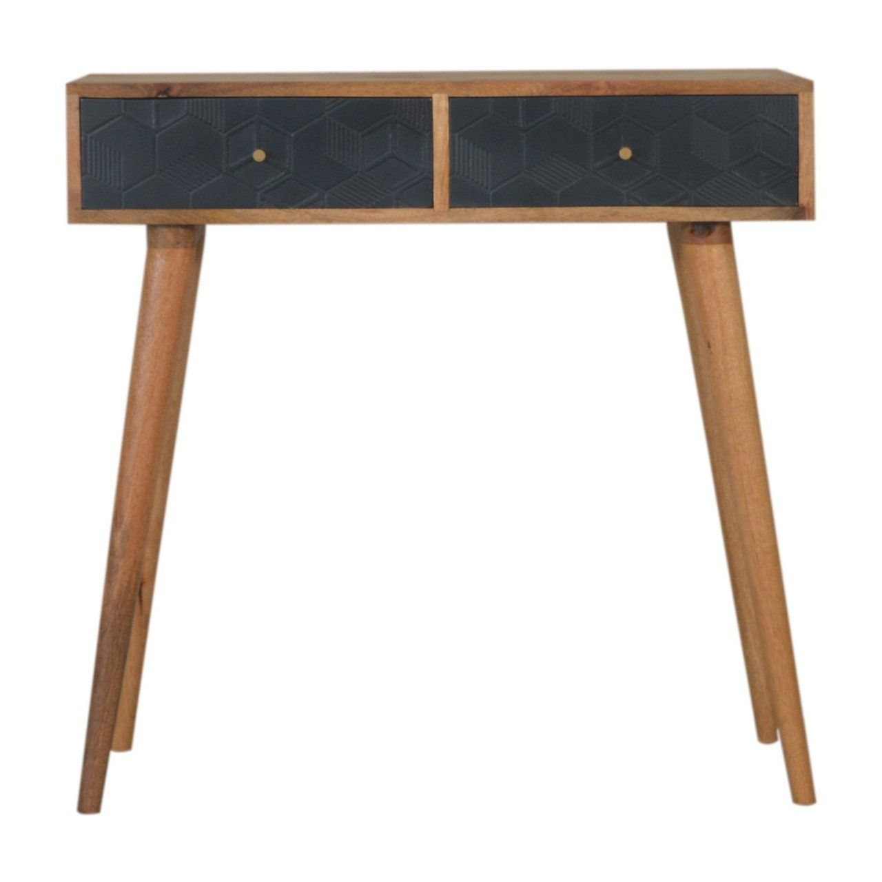 Photo of Acadia Black Console Table