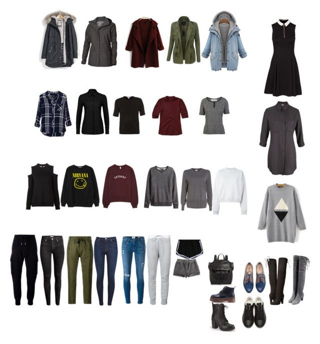 """wardrobe"" by amayafaylee on Polyvore featuring Parka London, LE3NO, Royal Robbins, Vera Wang, Haider Ackermann, Frame Denim, Sacai, Rails, Matt & Nat and Steve Madden"