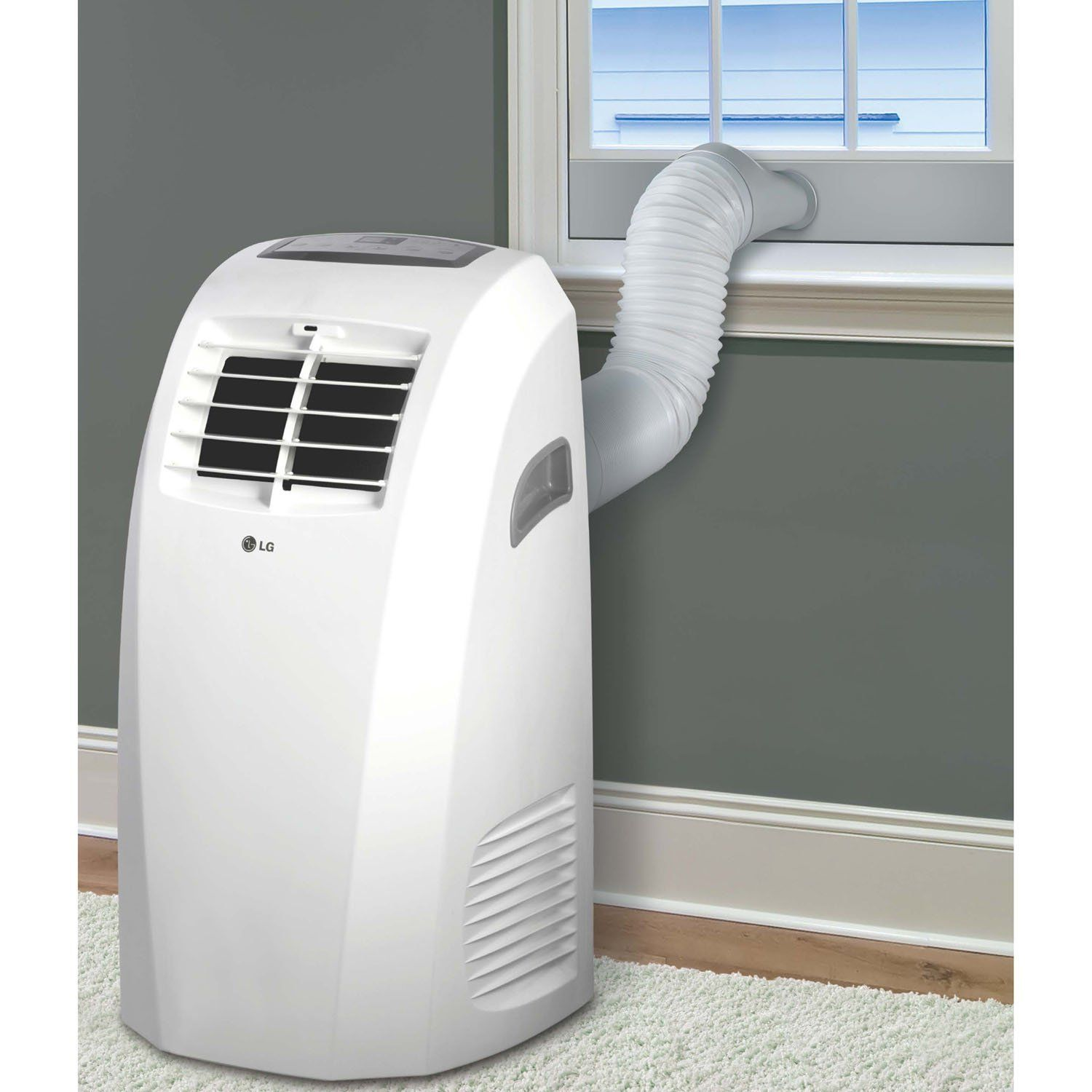 Amazon Com Lg 10 000 Btu 115v Portable Air Conditioner With