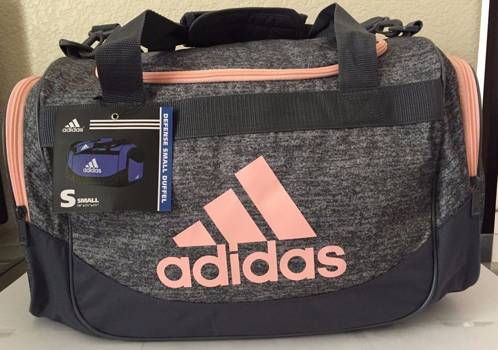 21a9b9b2d5 ADIDAS Defense Small Duffel Sport Gym bag luggage Onix Jersey Onix Haze  Coral  Adidas