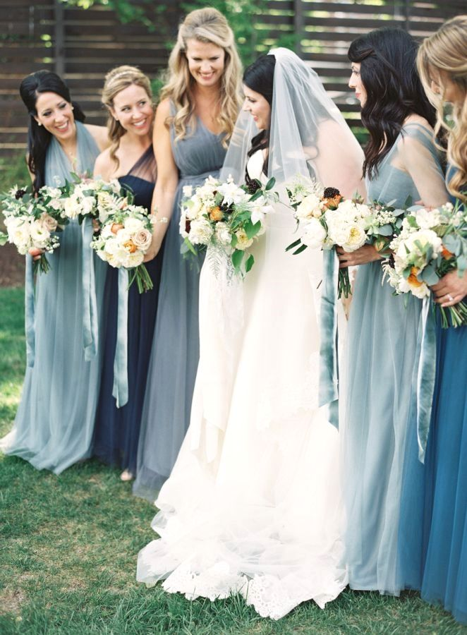 Blue Bridesmaid Dresses. Your wedding day is considered the most ...