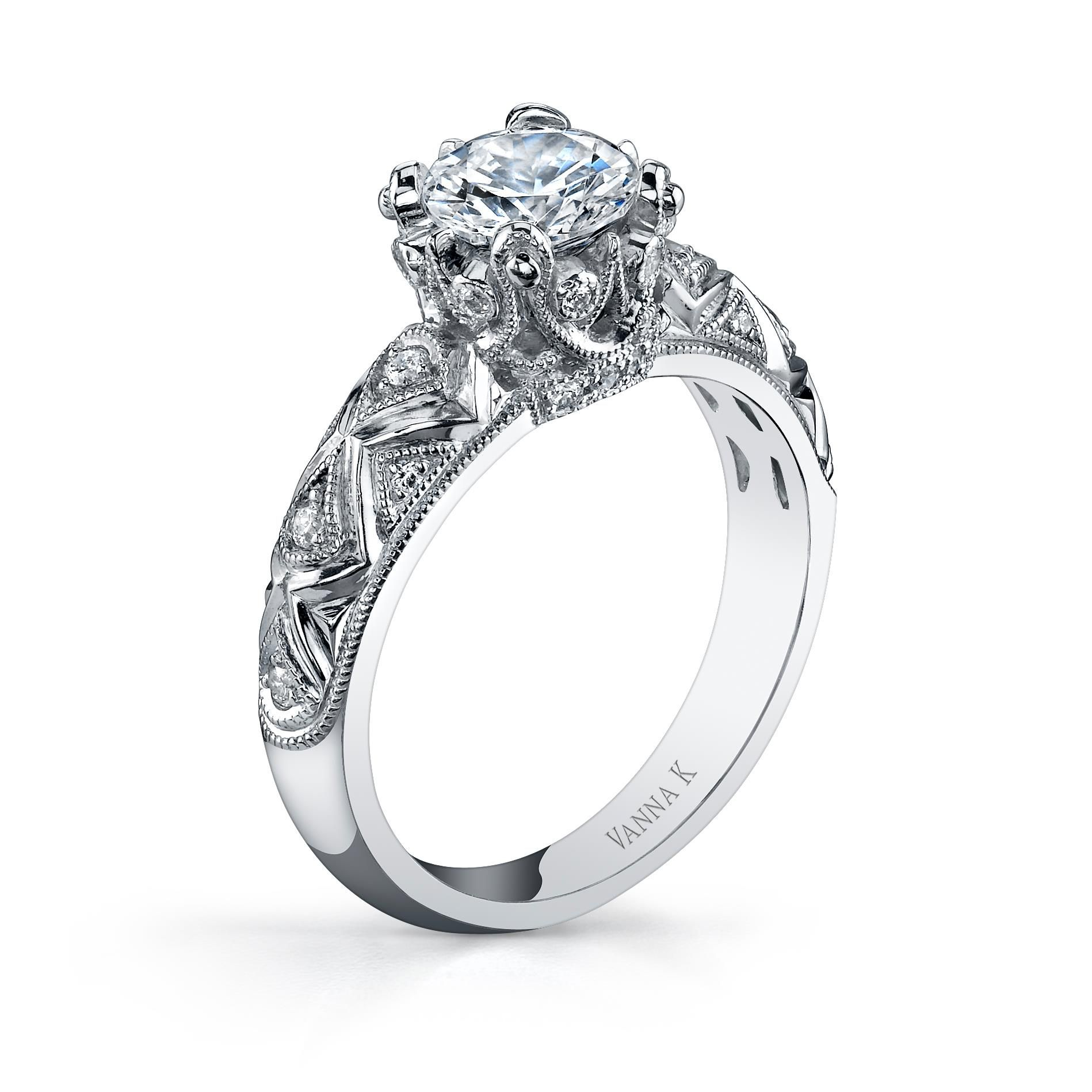 1639a8d89bf10 Crown Her Queen! Designer Diamond Rings Vanna-K--Style-18RGL832DCZ ...