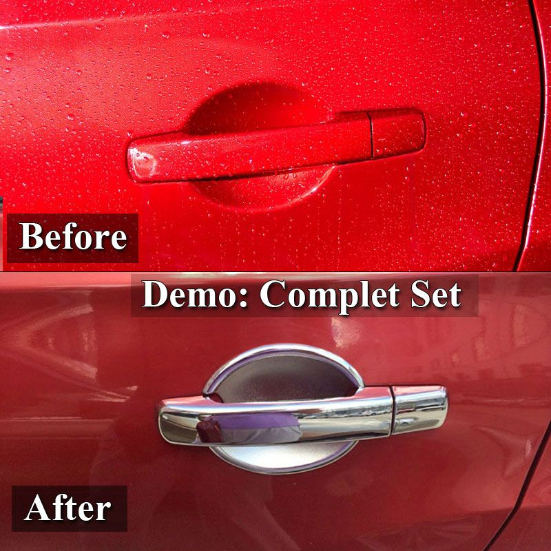 For Nissan Altima 2007 2012 Abs Chrome Door Handle Cover Door Bowl Cover Car Styling Decorate 2008 2009 2010 2011 Affiliate Replacement Parts Auto