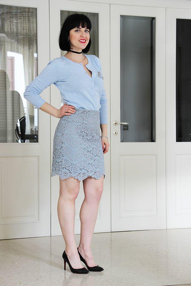 Celeste e serenity: un outfit color pastello - Black Star Style