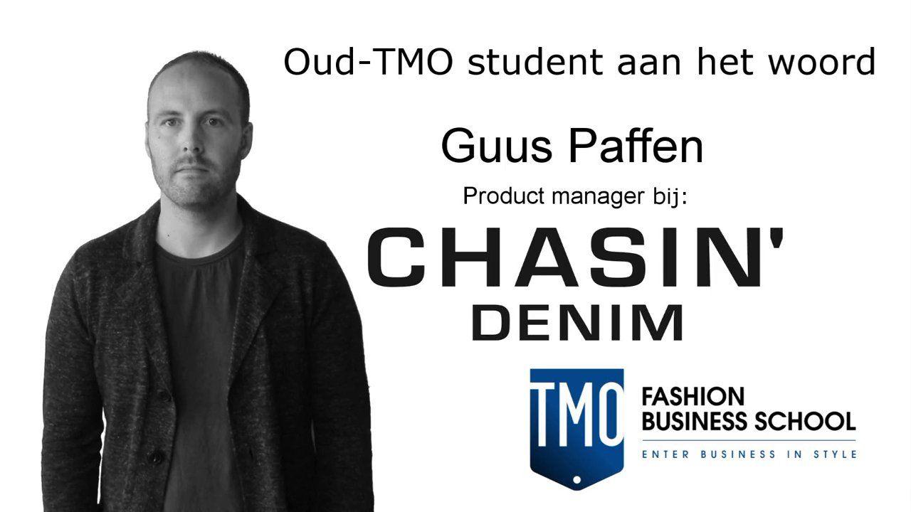 TMO oud-student Guus Paffen, is nu productmanager bij Chasin. Check zijn video.
