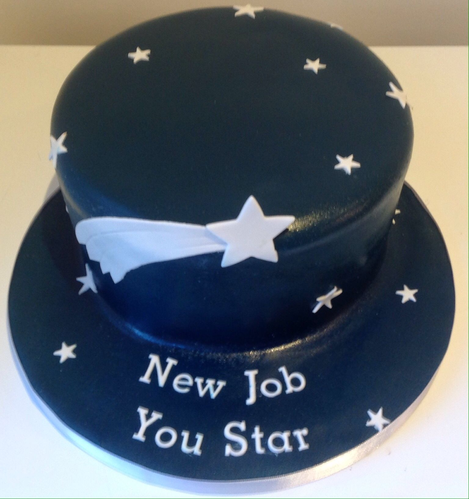 New Job You Star Cake To Wish Friend Good Luck For New Job