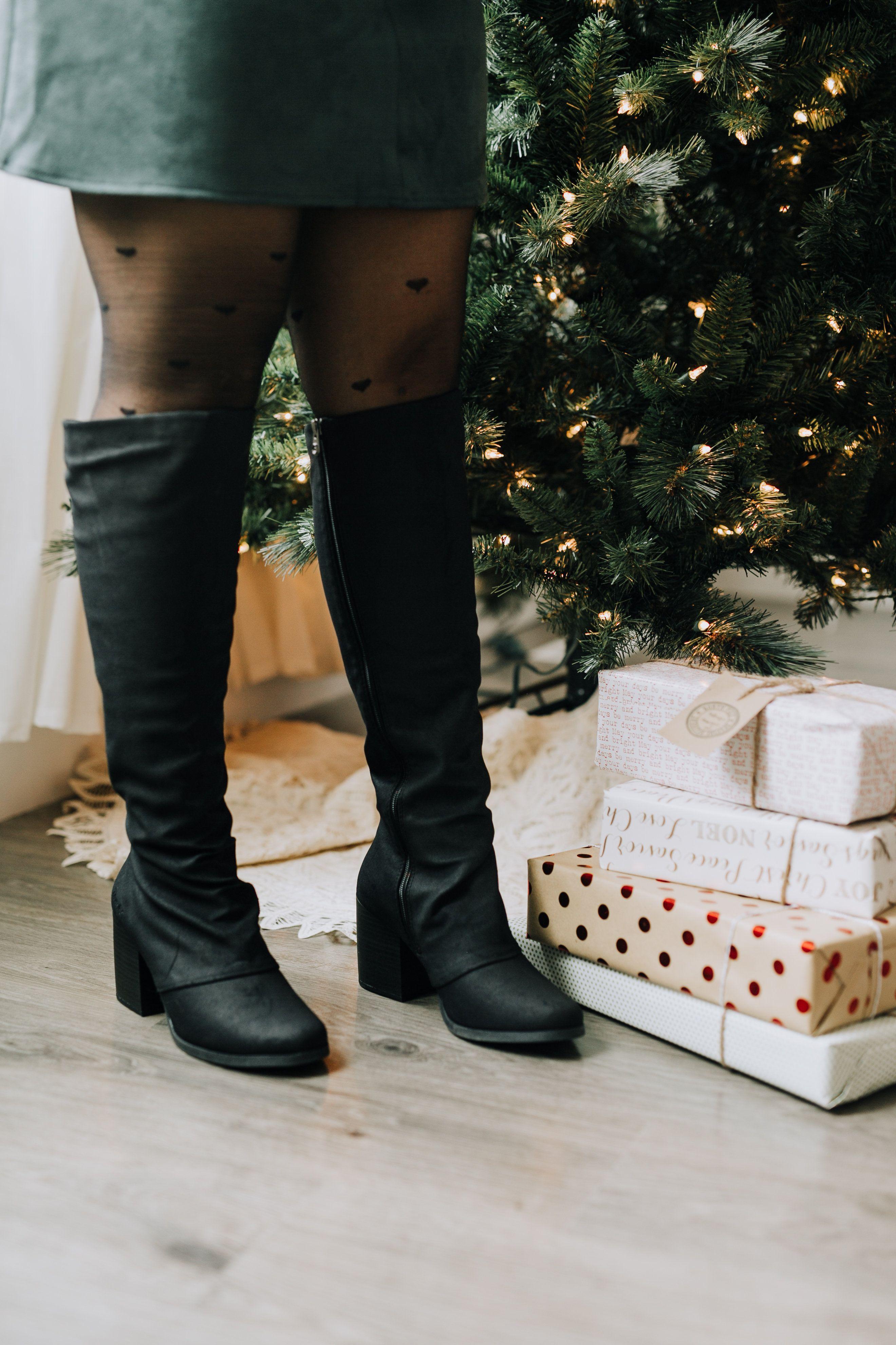 Dundee Knee High Womens Boots With Block Heel Blowfish Malibu Boots Black Boots Tall Blowfish [ 3960 x 2640 Pixel ]