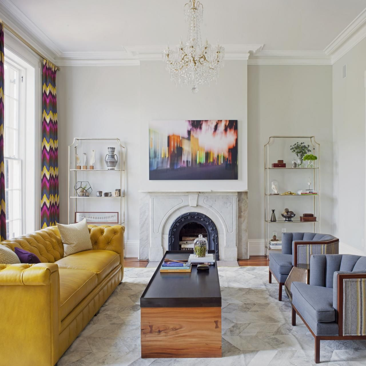 House Of Many Styles  Fresh Face Hgtv And Yellow Sofa Amusing Design Your Own Living Room Layout Design Inspiration