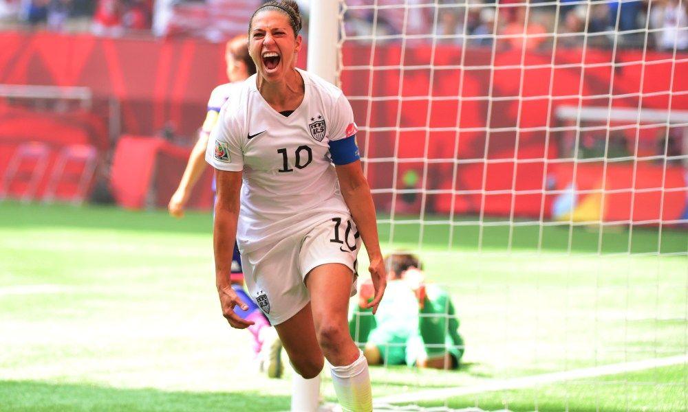 Carli Lloyd Put On The Greatest World Cup Final Performance Ever Carli Lloyd World Cup Usa Today Sports