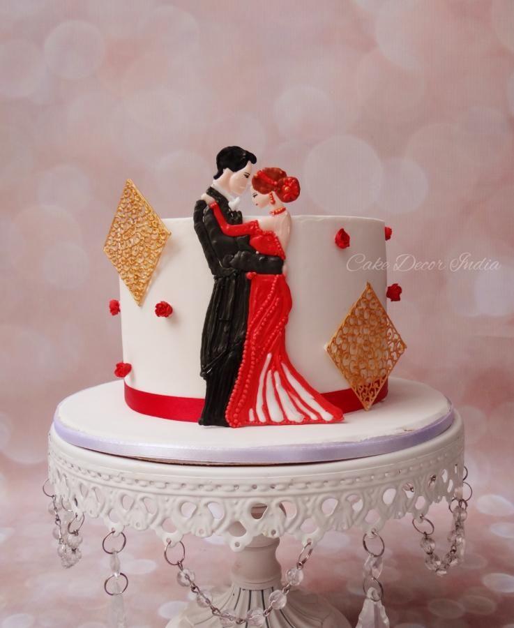 St anniversary cake in ri by prachi dhabaldeb http