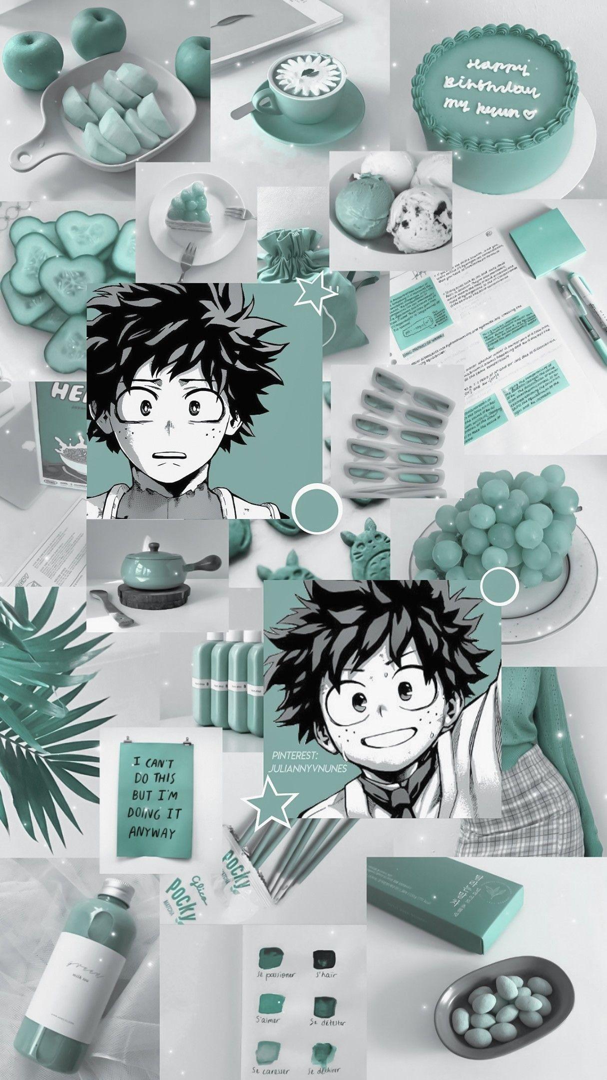 Boku No Hero Academia Izuku Midoriya Anime Wallpaper Iphone Anime Wallpaper Wallpaper Iphone Cute