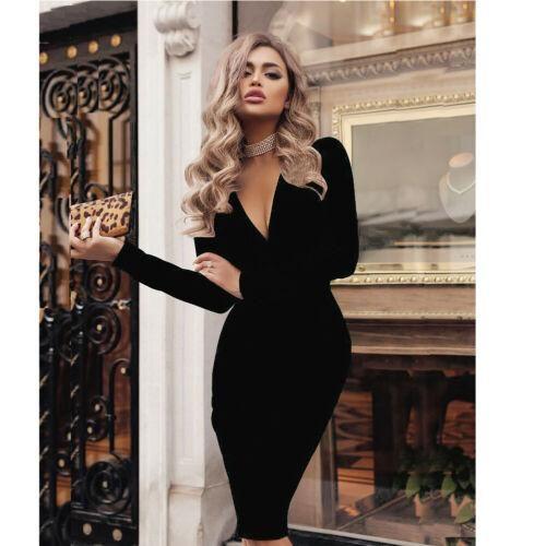 Mini Dress Black Evening Ladies Evening Essentials Cross Back Slinky 10 12 14 16