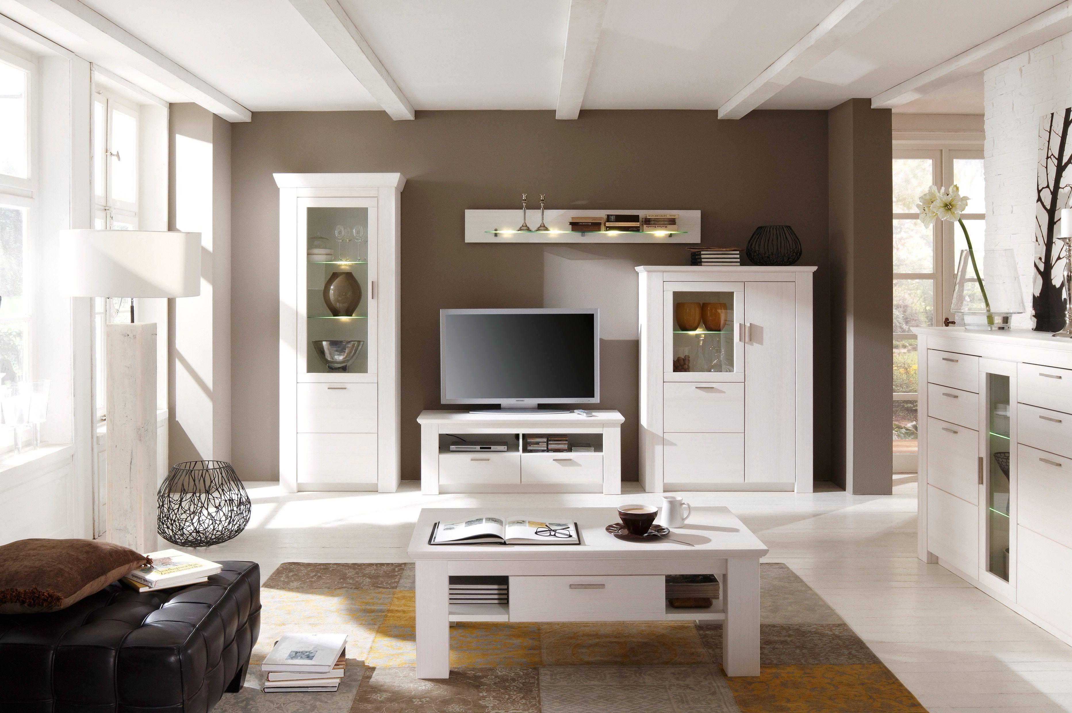 weiße möbel für wohnzimmer