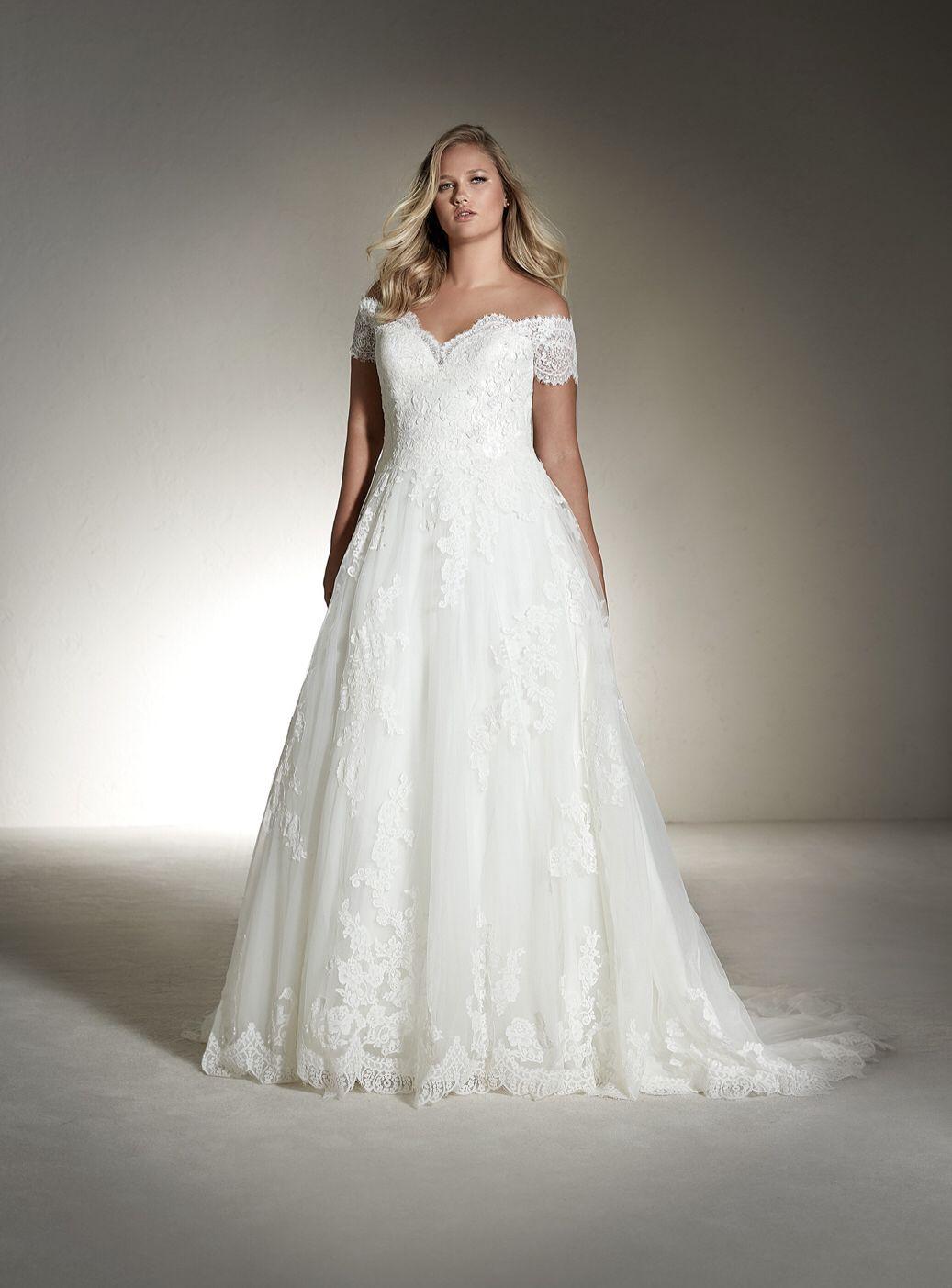 White One Fabiana Plus Wedding Dresses Short Sleeve Wedding Dress Best Wedding Dresses