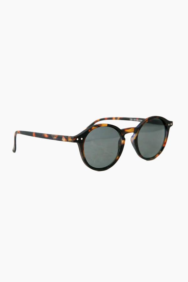 IZIPIZI Tortoise Sunglasses #D with Soft Grey Lenses | My