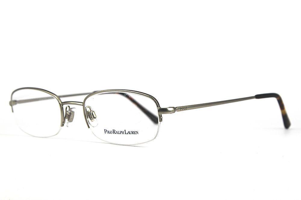 Silver Ph Polo Eyeglasses Lauren Matte Rimless Half Frames Ralph thxsrCQd
