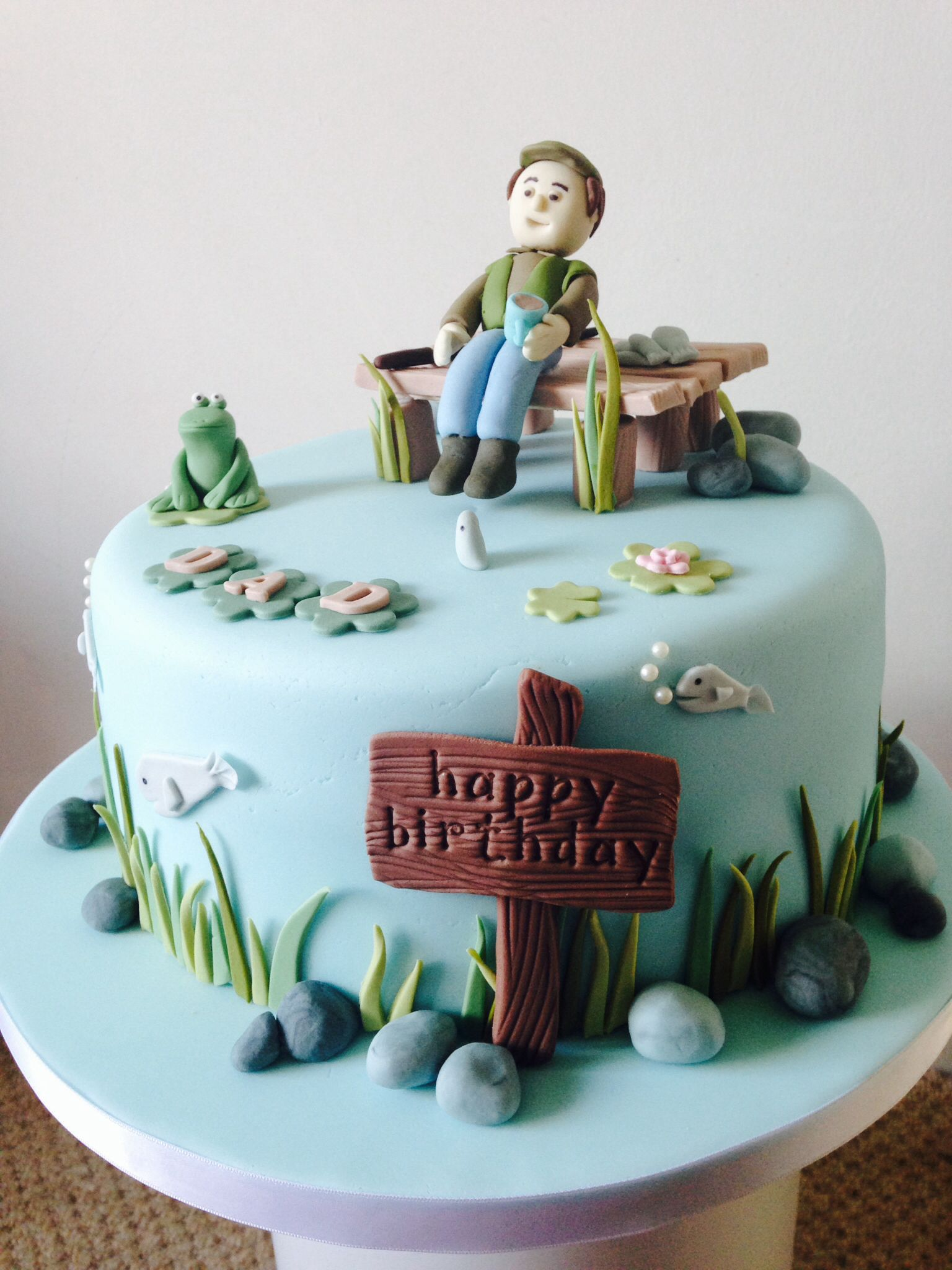 Birthday Cakes Fishing Google Search Fish Cake