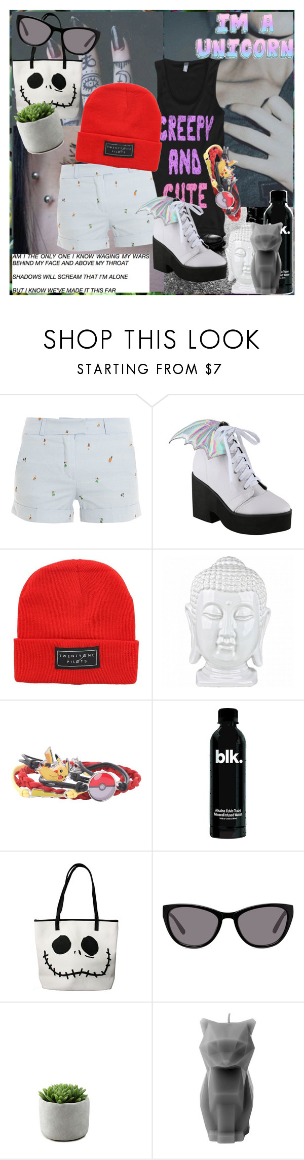 """trash Mammal"" by frerardforever ❤ liked on Polyvore featuring Zephyr, Paul & Joe, Iron Fist, Nintendo, Loungefly and PyroPet"