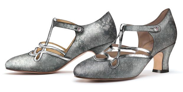"""""""Cicero"""" 1920s Flapper Shoes - Exclusive by American Duchess"""