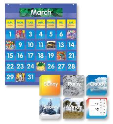 Product : Pocket Chart Calendar Set