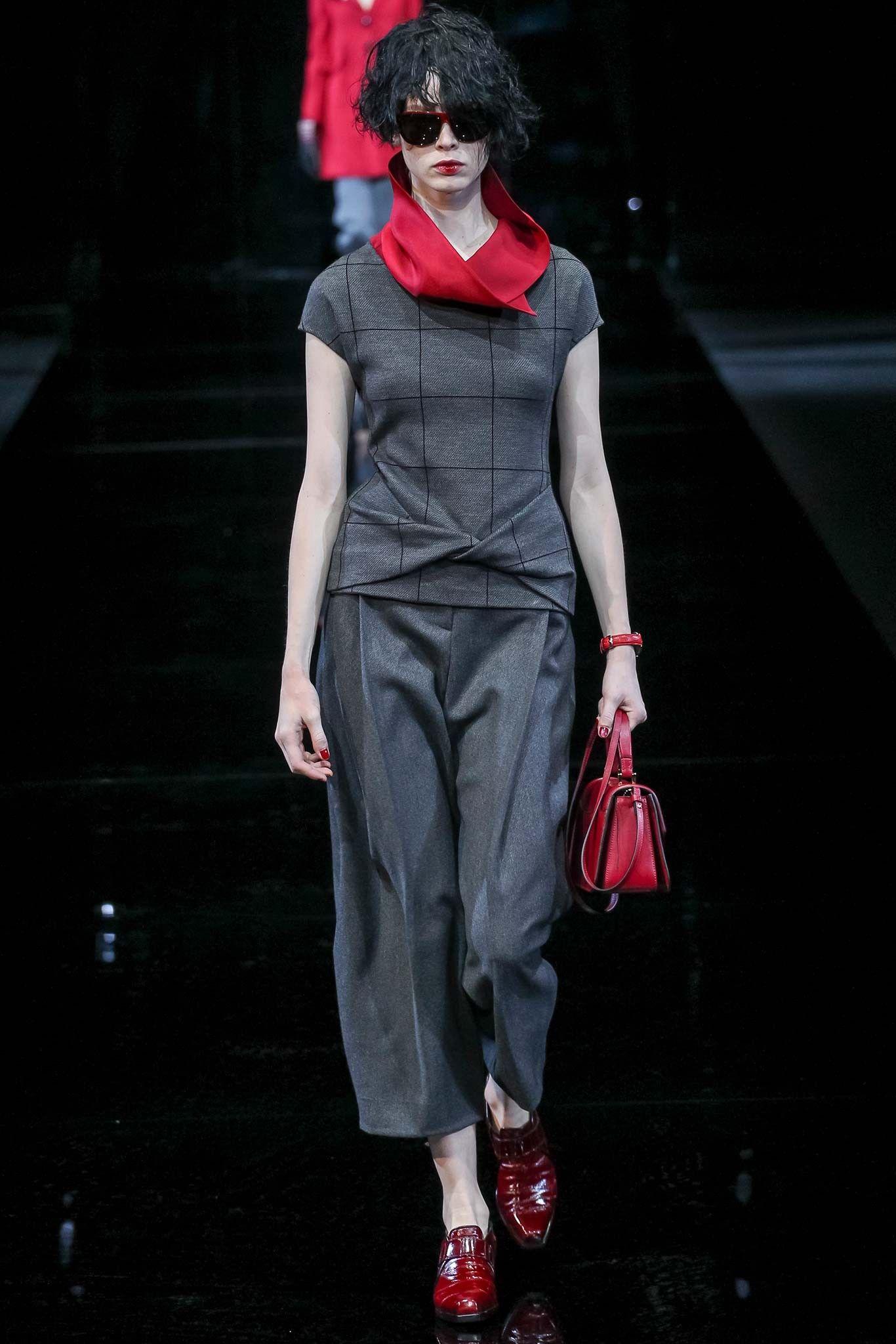 Emporio Armani fall/winter 2015 collection Milan fashion
