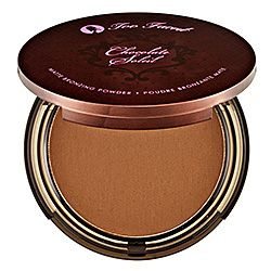The best bronzer! Smells so good you wanna eat it! Made with real cocoa powder. Yum :)