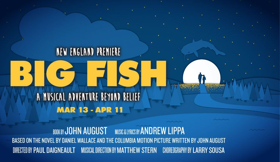 Big Fish musical at SpeakEasy Stage Company