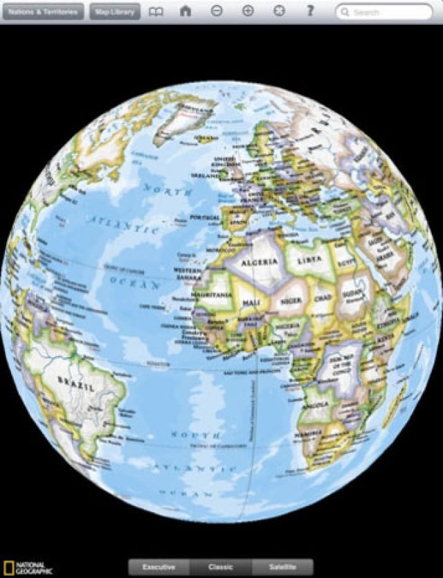 The Best Map Apps for Your iPad Apps and iPad - best of world map geographical hd